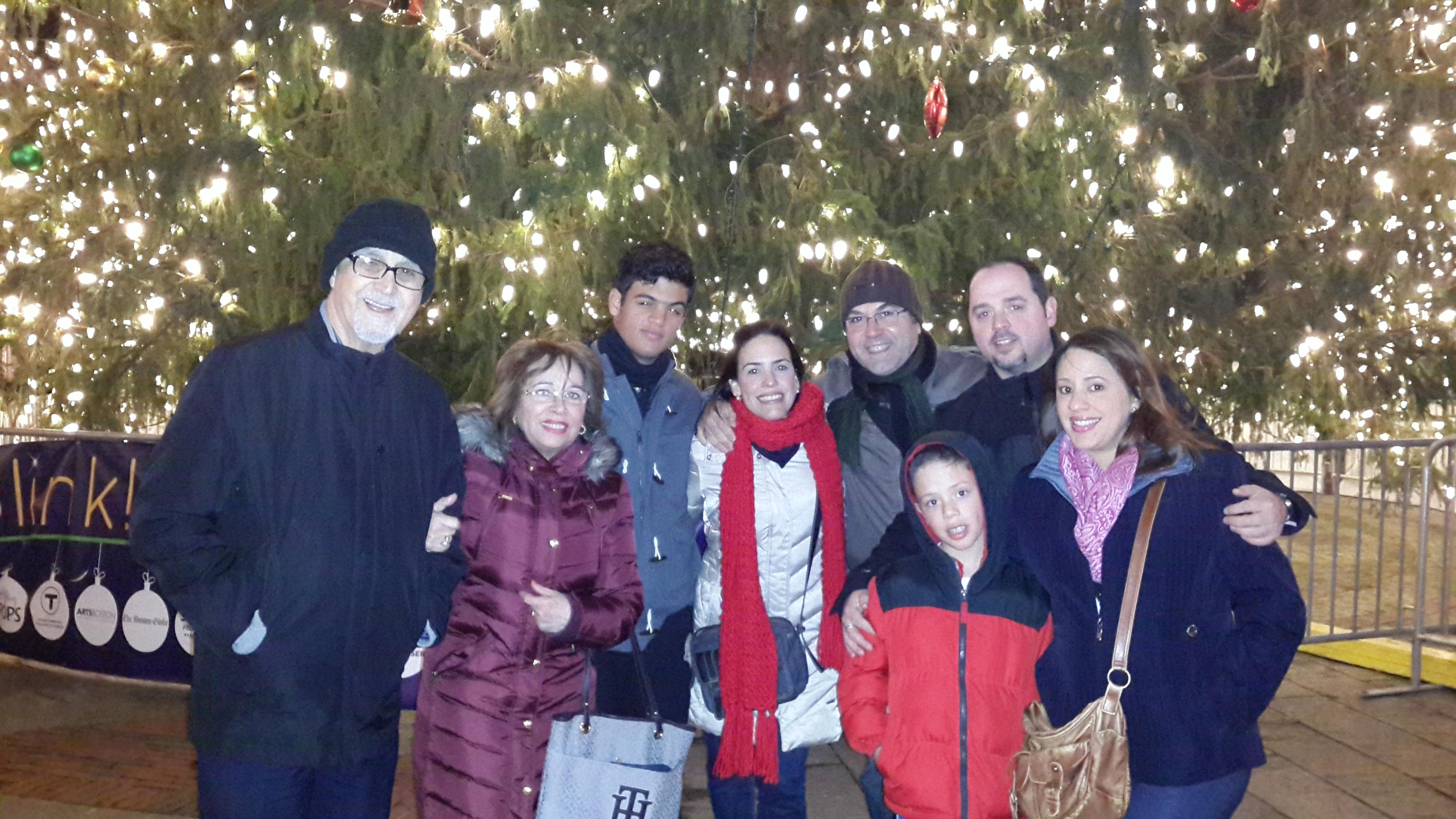 En el árbol del Market de Boston