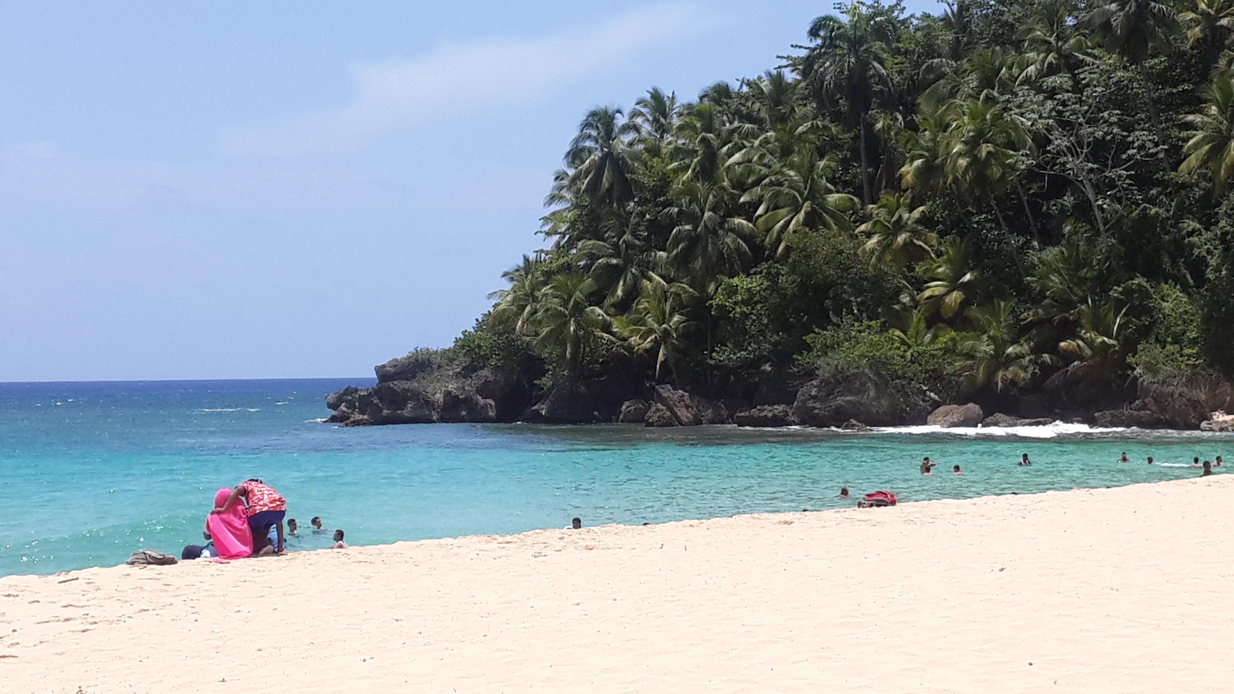 Playa Grande en Río San Juan está considerada entre las mejores playas del país.