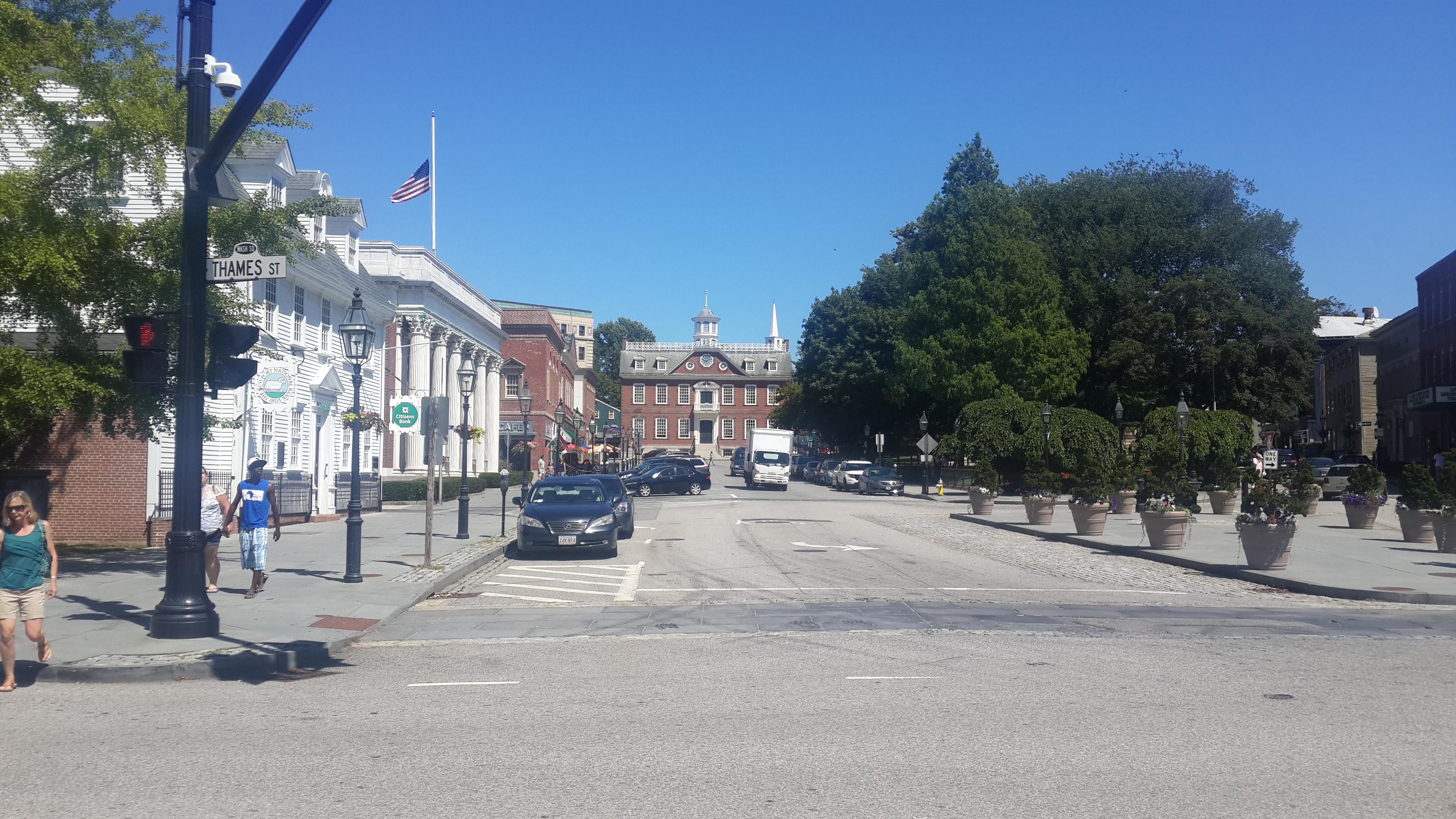 Callejeando por el centro de Newport