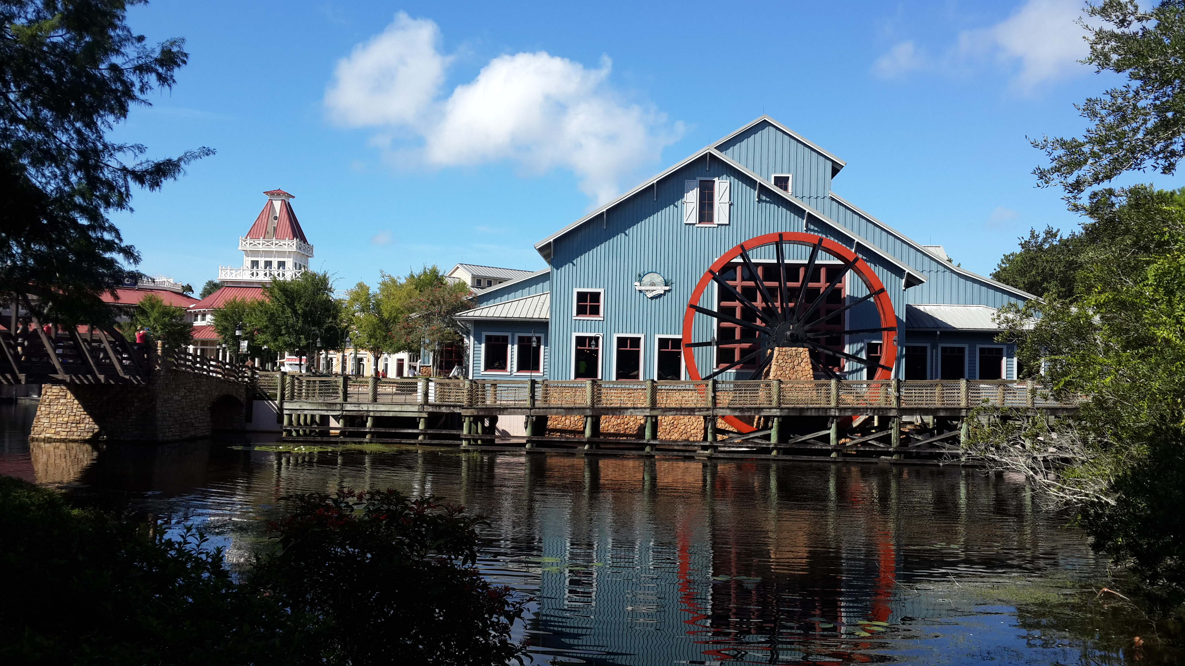 Fotos de día en el Disney´s Port Orleans Resort