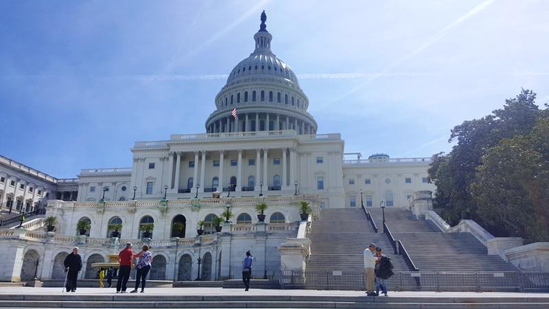 Fachada Oeste del Capitolio