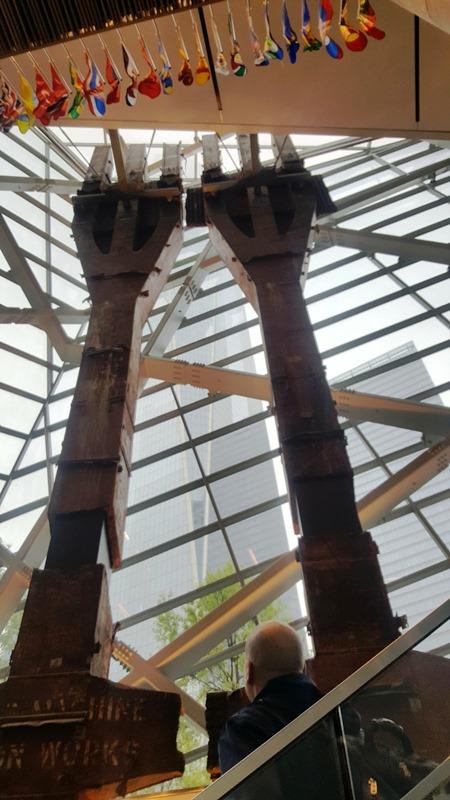 Columnas de la fachada de las Torres Gemelas