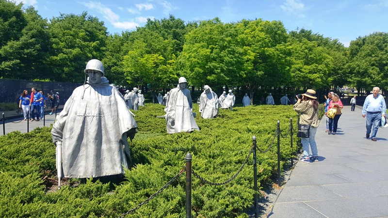 Monumento Korean War Veterans Memorials
