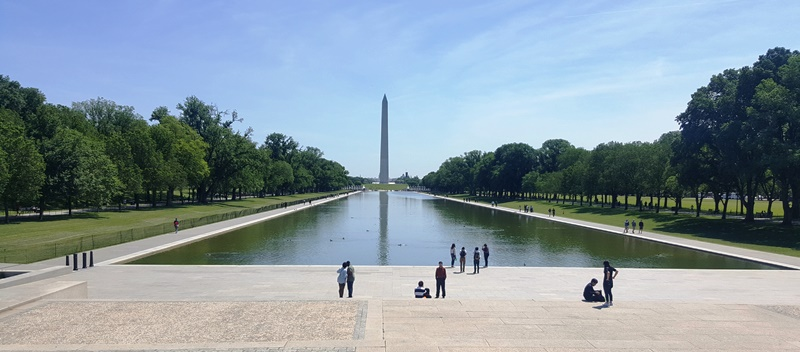 Vista desde Lincoln Memorial